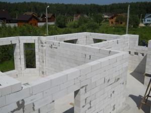 Кладка блоков ГРАС