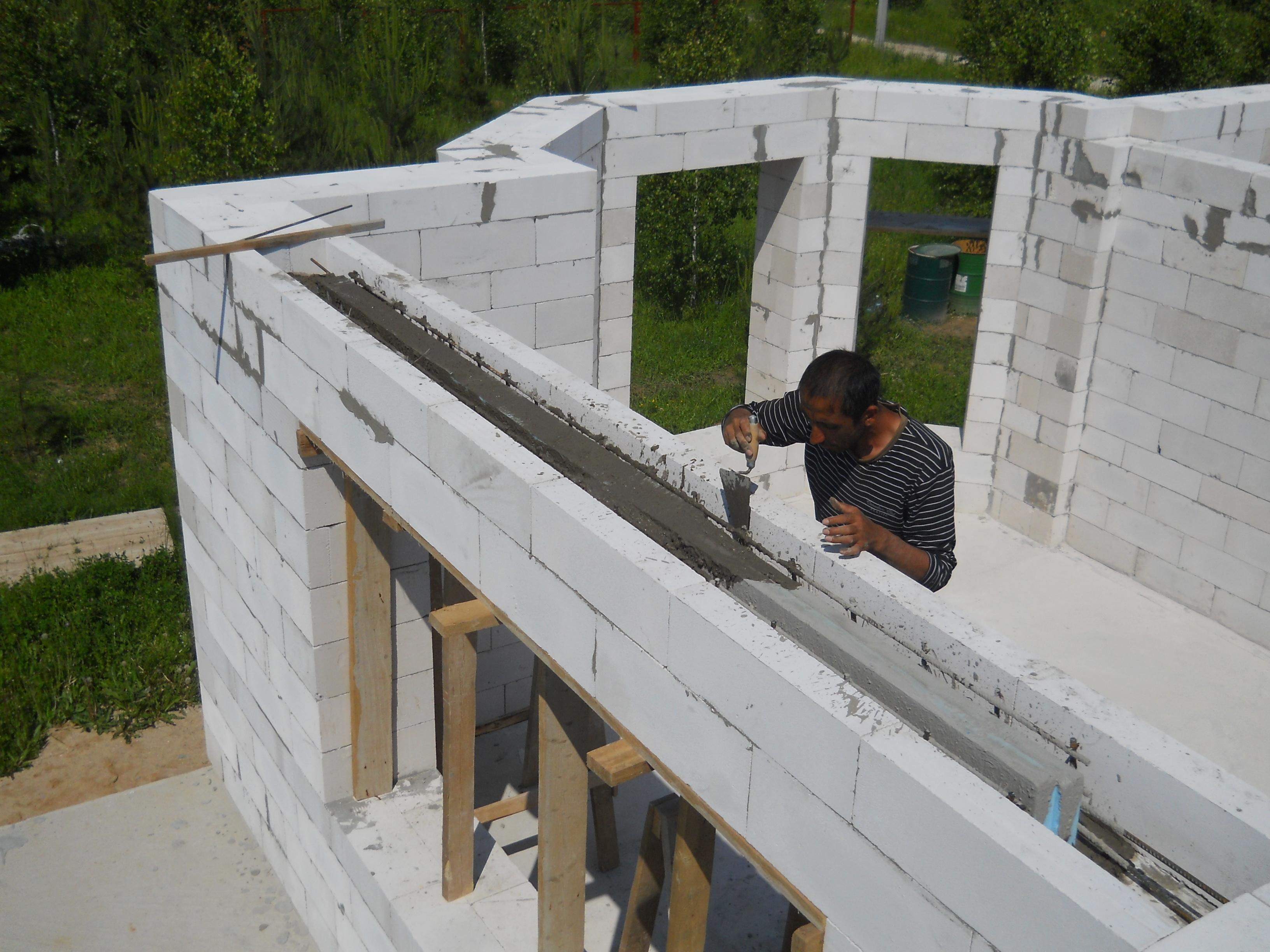 Как сделать дом из газобетона фото 459