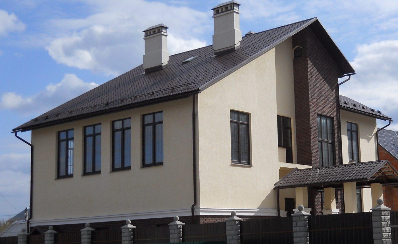 Дом с газобетона как сделать фасад дома