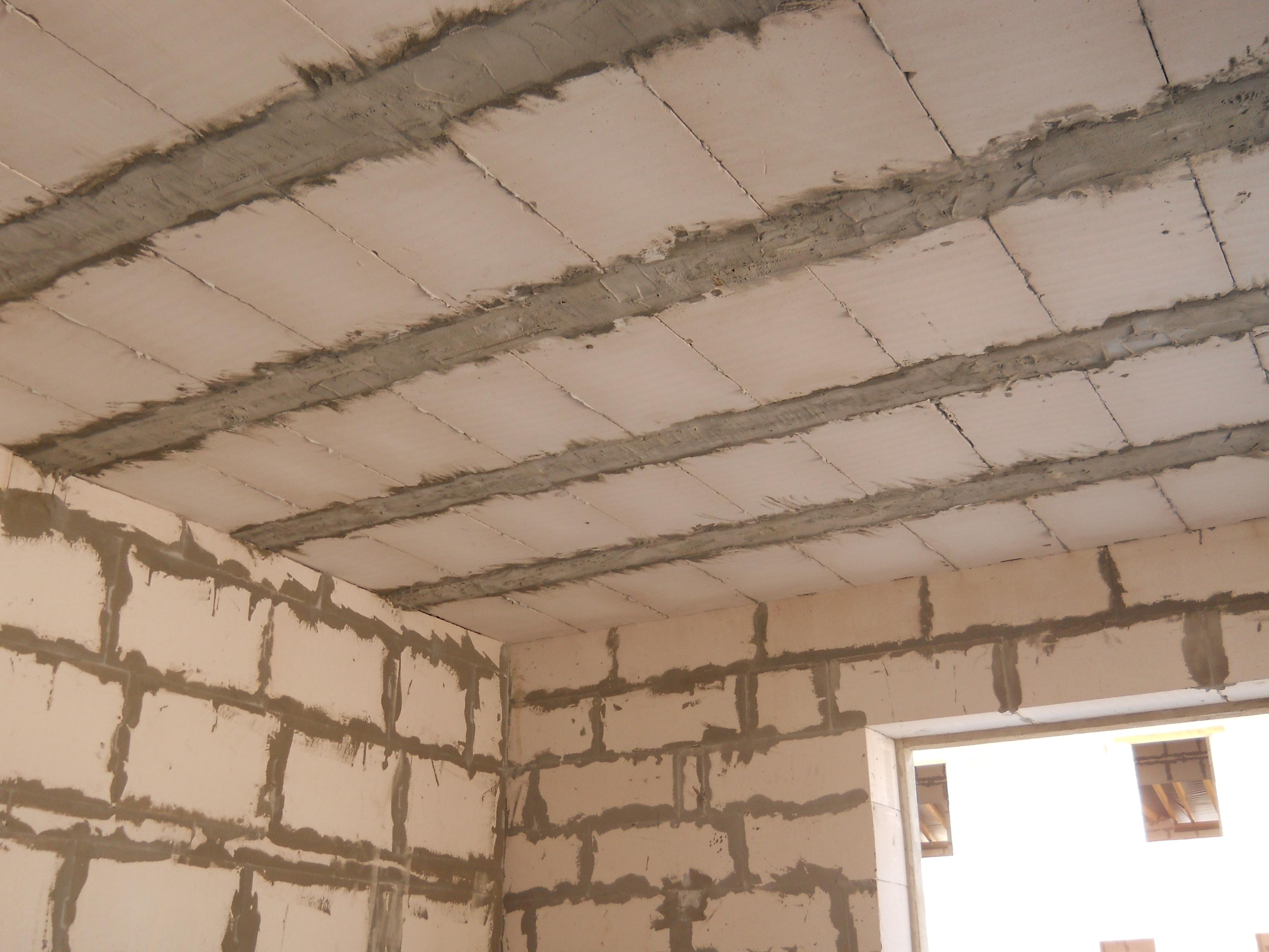 Как сделать монолитный потолок 6