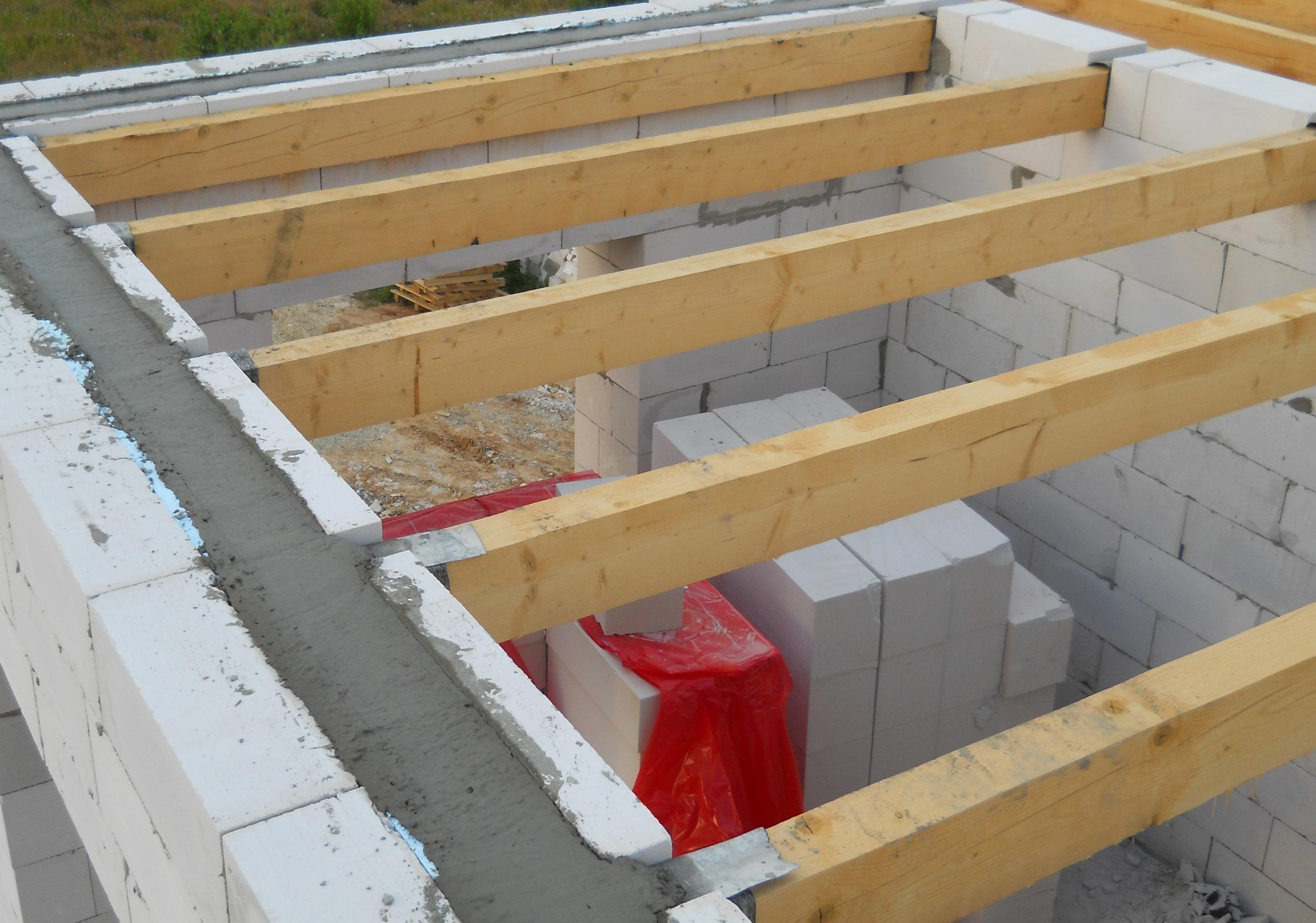 Как сделать деревянные перекрытия между этажами в  373