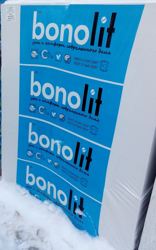 Газоблоки Bonolit