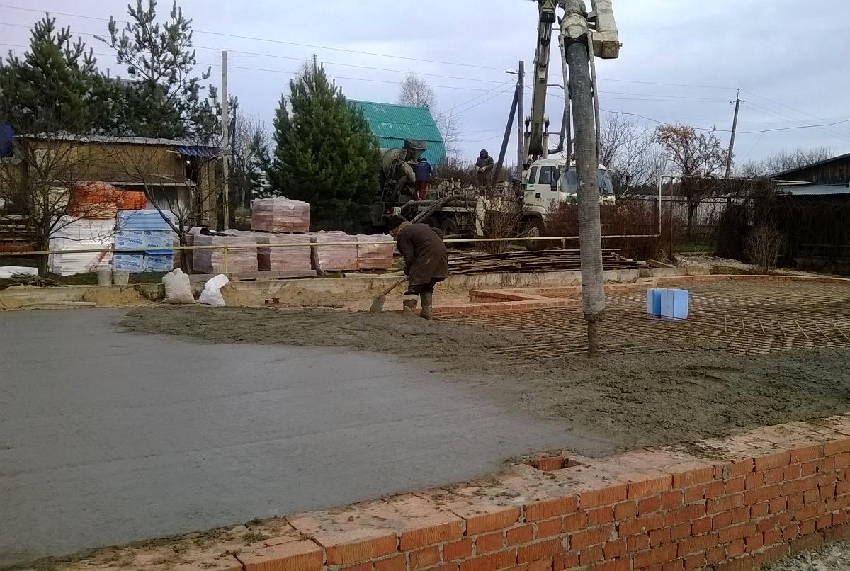 Строим фундамент