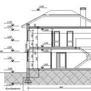 проект дома из газобнтона