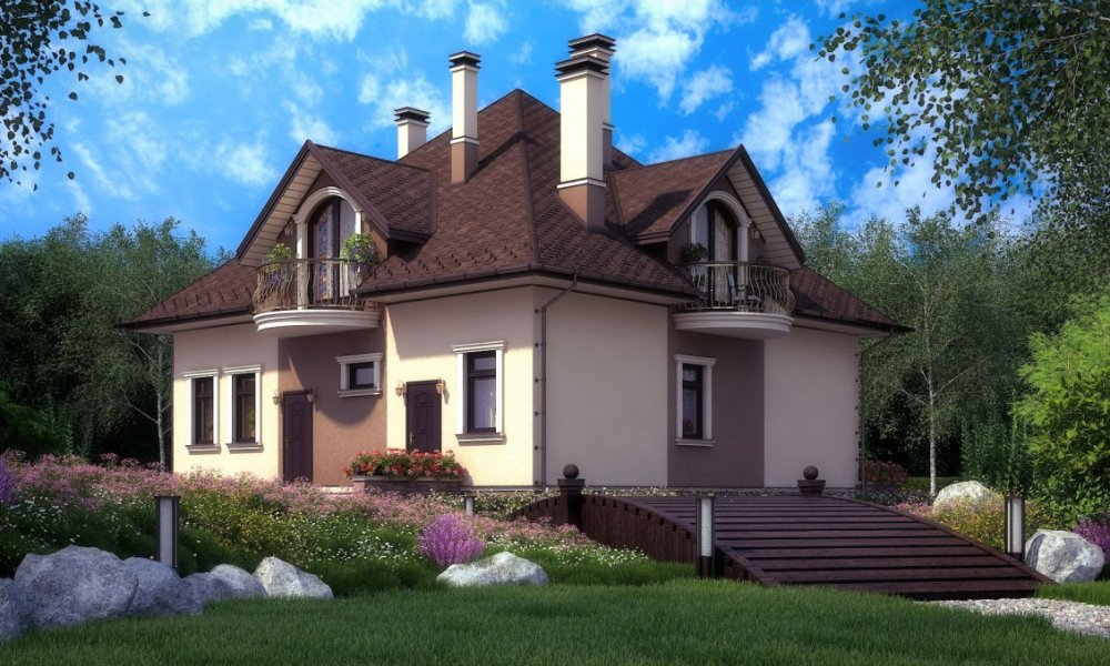 проект дома из газобетона