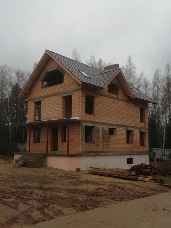 Строительство дома из пустотного кирпича