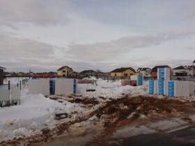 Доставка блоков зимой